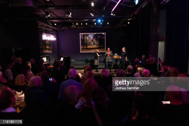 A general view during the press event One Bellini with Rolando Villazon on the occasaion of the new staging of the Bellini opera I puritani at Sir...