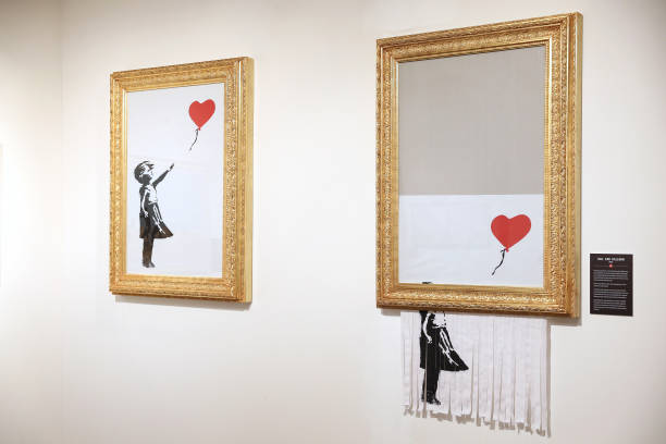 "DEU: ""The Mystery of Banksy – A Genius Mind"" Exhibition Preview In Munich"