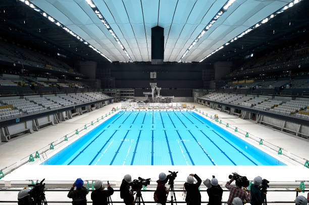 JPN: Tokyo Aquatics Centre & Ariake Arena Press Preview