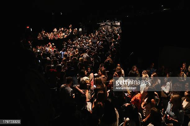 A general view during the Rebecca Minkoff Spring 2014 Runway Show in Collaboration with American Express UNSTAGED Music by Janelle Monae at The...