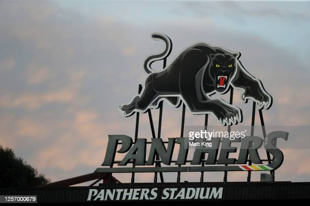 General view during the round 10 NRL match between the Penrith Panthers and the North Queensland Cowboys at Panthers Stadium on July 19, 2020 in...