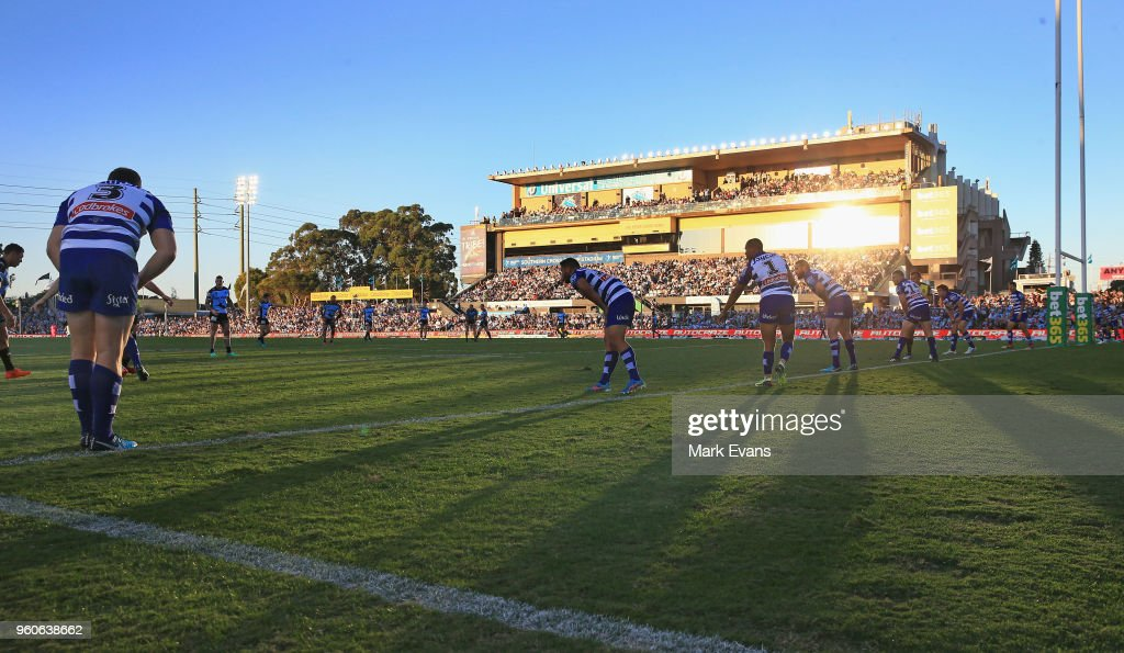 A general view during the round 11 NRL match between the Cronulla Sharks and the Canterbury Bulldogs at Southern Cross Group Stadium on May 20, 2018 in Sydney, Australia.