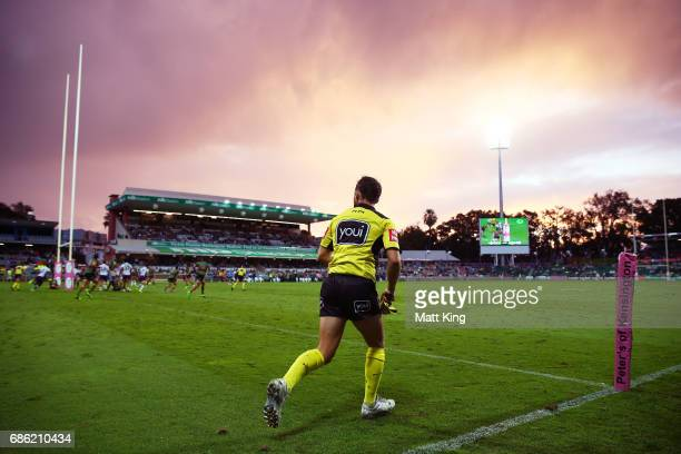 A general view during the round 11 NRL match between the South Sydney Rabbitohs and the Melbourne Storm at nib Stadium on May 21 2017 in Perth...