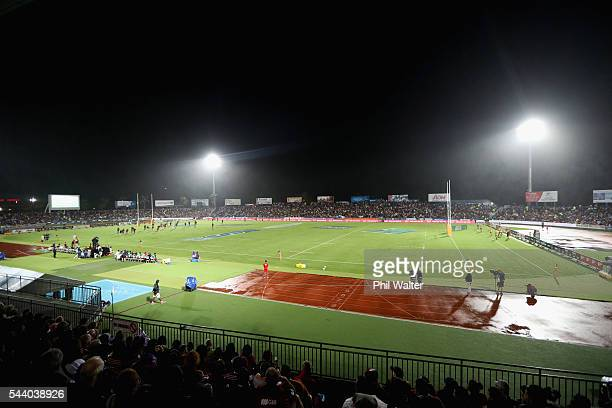A general view during the round 15 Super Rugby match between the Chiefs and the Crusaders at ANZ Stadium on July 1 2016 in Suva Fiji