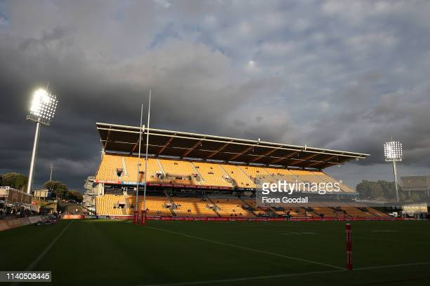 General view during the round 4 NRL match between the Warriors and the Titans at Mt Smart Stadium on April 05, 2019 in Auckland, New Zealand.