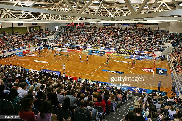 General view during the round five ANZ Championship match between the Melbourne Vixens and the West Coast Fever at State Netball Hockey Centre on...