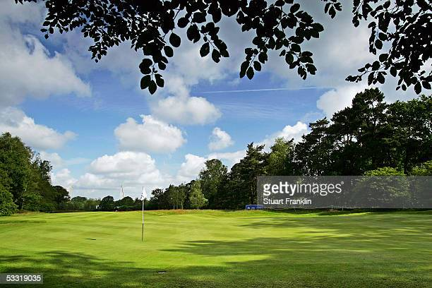 General view during the Second Round at The KLM Open Golf at The Hillversumsche Golf Club on June 10 2005 in Hillversum The Netherlands