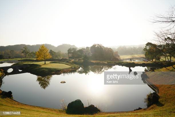 General view during the second round of the Castrol Ladies at the Fuji Ichihara Golf Club on November 18, 2020 in Ichihara, Chiba, Japan.