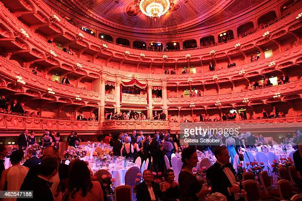 A general view during the Semper Opera Ball 2015 at Semperoper on January 30 2015 in Dresden Germany
