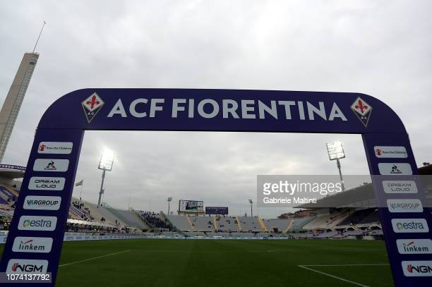 General view during the Serie A match between ACF Fiorentina and Empoli at Stadio Artemio Franchi on December 16 2018 in Florence Italy