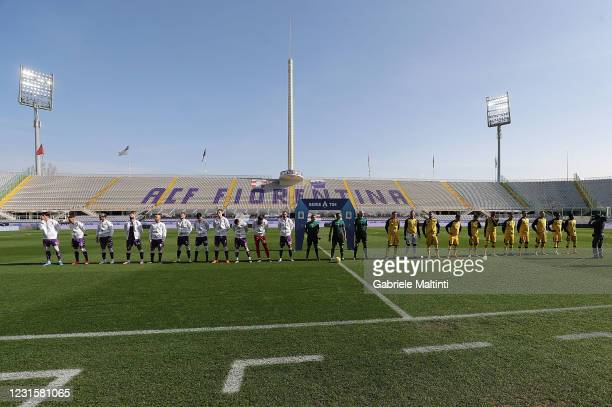 General view during the Serie A match between ACF Fiorentina and Parma Calcio at Stadio Artemio Franchi on March 7, 2021 in Florence, Italy.