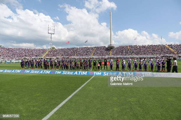 A general view during the serie A match between ACF Fiorentina and Cagliari Calcio at Stadio Artemio Franchi on May 13 2018 in Florence Italy