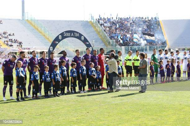 General view during the Serie A match between ACF Fiorentina and Atalanta BC at Stadio Artemio Franchi on September 30 2018 in Florence Italy