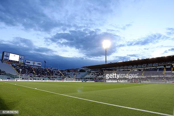 General view during the Serie A match between ACF Fiorentina and Juventus FC at Stadio Artemio Franchi on April 24, 2016 in Florence, Italy.