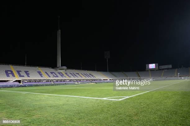 General view during the Serie A match between ACF Fiorentina and Torino FC at Stadio Artemio Franchi on October 25, 2017 in Florence, Italy.