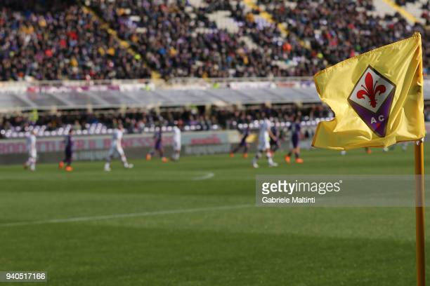 General view during the serie A match between ACF Fiorentina and FC Crotone at Stadio Artemio Franchi on March 31 2018 in Florence Italy
