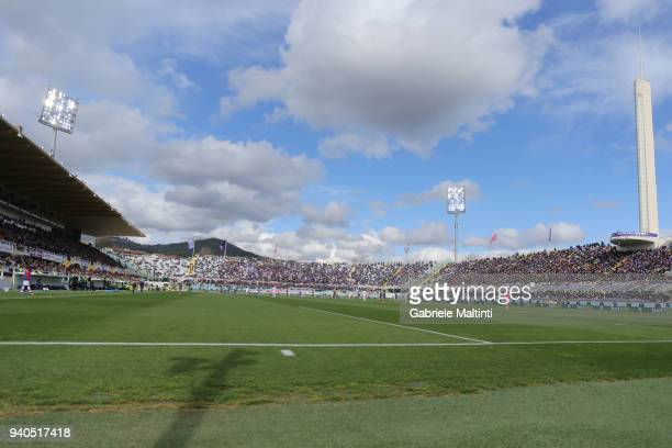 General view during the serie A match between ACF Fiorentina and FC Crotone at Stadio Artemio Franchi on March 31, 2018 in Florence, Italy.