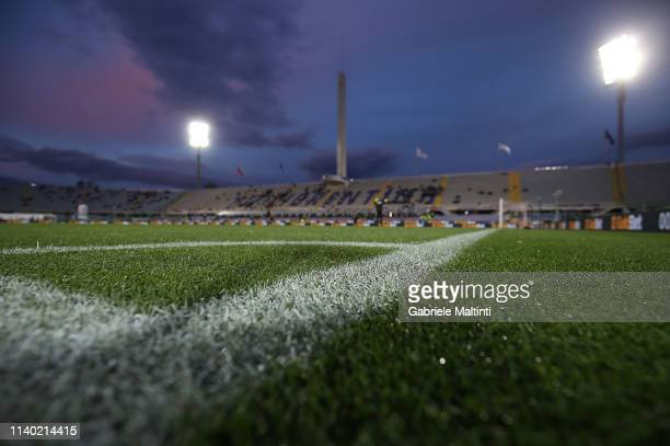General view during the Serie A match between ACF Fiorentina and US Sassuolo at Stadio Artemio Franchi on April 29, 2019 in Florence, Italy.