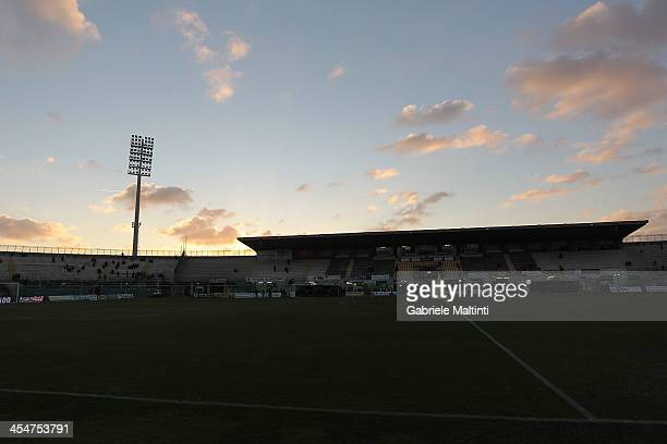 A general view during the Serie A match between AS Livorno and AC Milan at Stadio Armando Picchi on December 7 2013 in Livorno Italy