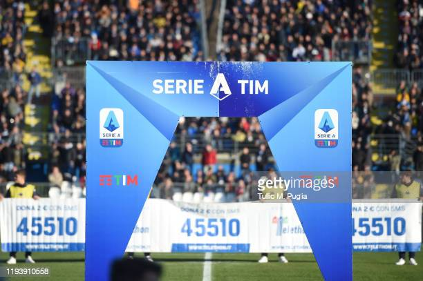 General view during the Serie A match between Brescia Calcio and US Lecce at Stadio Mario Rigamonti on December 14, 2019 in Brescia, Italy.