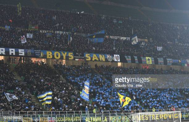 A general view during the Serie A match between FC Internazionale and SSC Napoli at Stadio Giuseppe Meazza on December 26 2018 in Milan Italy