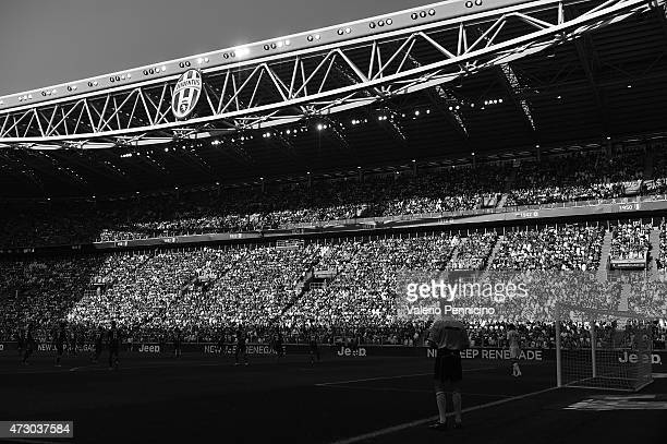 A general view during the Serie A match between Juventus FC and Cagliari Calcio at Juventus Arena on May 09 2015 in Turin Italy