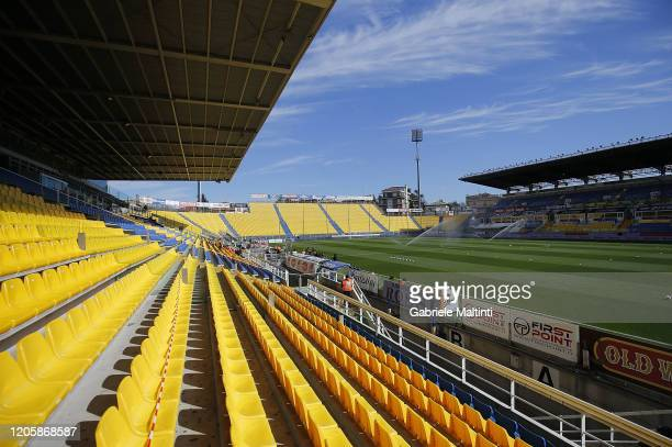 A general view during the Serie A match between Parma Calcio and SPAL at Stadio Ennio Tardini on March 1 2020 in Parma Italy