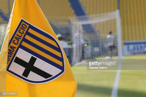 General view during the Serie A match between Parma Calcio and SSC Napoli at Stadio Ennio Tardini on July 22, 2020 in Parma, Italy.