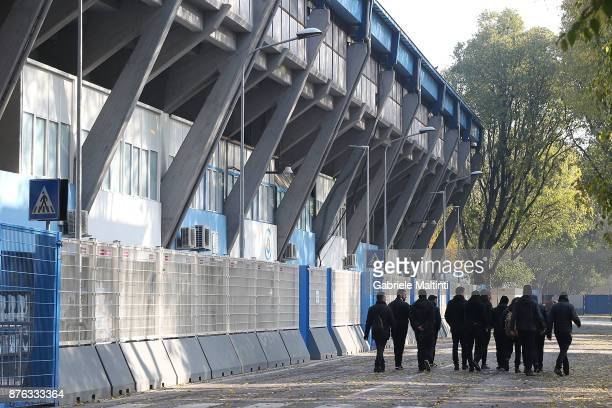 General view during the Serie A match between Spal and ACF Fiorentina at Stadio Paolo Mazza on November 19, 2017 in Ferrara, Italy.