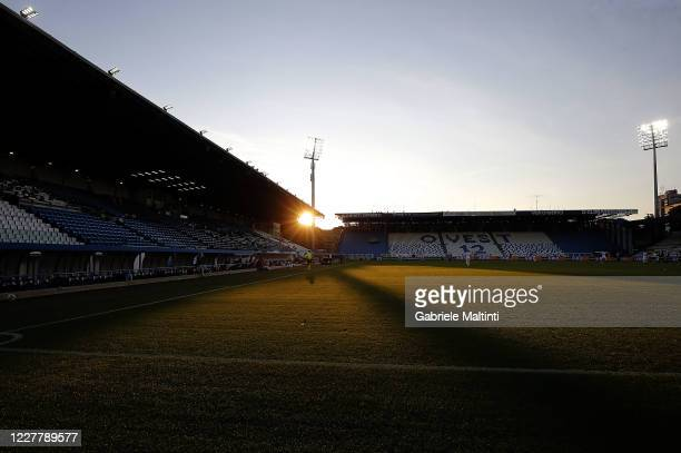 General view during the Serie A match between SPAL and Torino FC at Stadio Paolo Mazza on July 26, 2020 in Ferrara, Italy.
