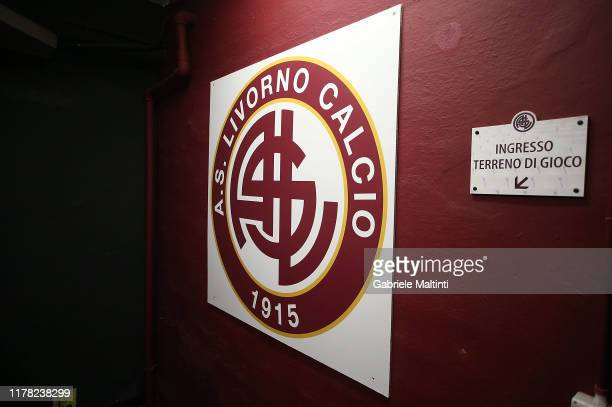 General view during the Serie B match between AS Livorno and Pisa SC at Stadio Armando Picchi on October 26 2019 in Livorno Italy