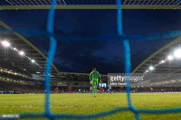 A general view during the Sky Bet Championship match between Brighton Hove Albion and Birmingham City at Amex Stadium on April 4 2017 in Brighton...