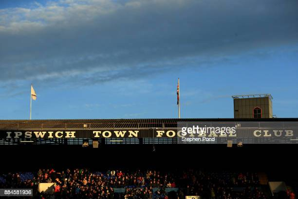 A general view during the Sky Bet Championship match between Ipswich Town and Nottingham Forest at Portman Road on December 2 2017 in Ipswich England