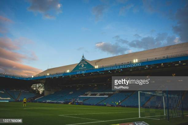 General view during the Sky Bet Championship match between Sheffield Wednesday and Middlesbrough at Hillsborough, Sheffield on Wednesday, England on...
