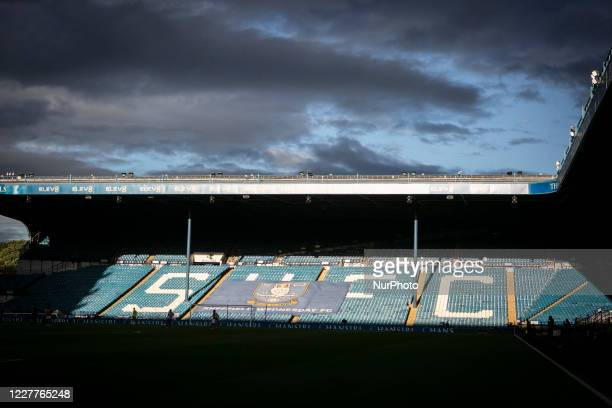 A general view during the Sky Bet Championship match between Sheffield Wednesday and Middlesbrough at Hillsborough Sheffield on Wednesday England on...