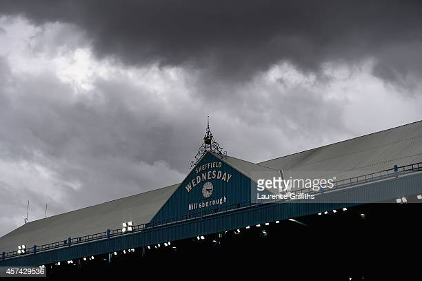 A general view during the Sky Bet Championship match between Sheffield Wednesday and Watford at Hillsborough Stadium on October 18 2014 in Sheffield...