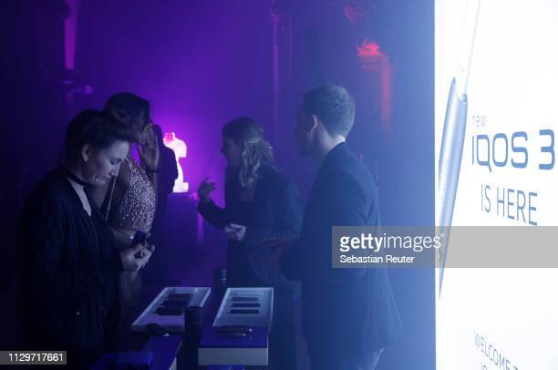 A general view during the Sleek X IQOS Valentines Party at Claerchens Ballhaus on February 14 2019 in Berlin Germany