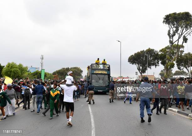 General view during the South African Springboks Rugby World Cup 2019 Champions Tour on November 11, 2019 in Cape Town, South Africa.