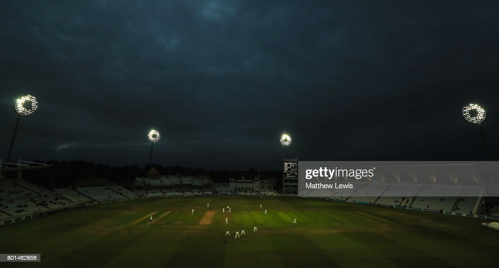 A general view during the Specsavers County Championship Division Two match between Nottinghamshire and Kent at Trent Bridge on June 26, 2017 in Nottingham, England.