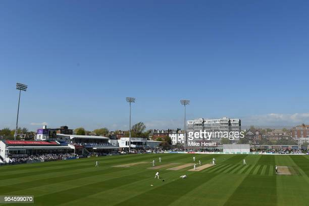 General view during the Specsavers County Championship Division Two match between Sussex and Middlesex at The 1st Central County Ground on May 4,...