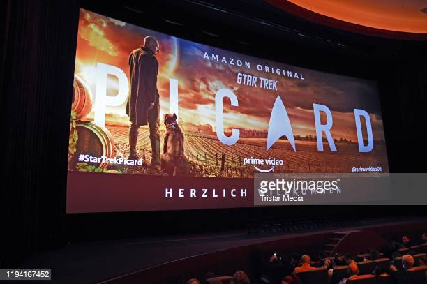 """General view during the """"Star Trek: Picard"""" fan screening at Zoo Palast on January 17, 2020 in Berlin, Germany."""