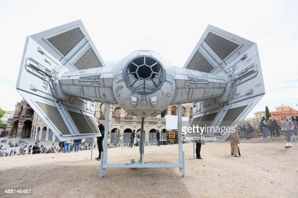 General view during the Star Wars Day 2014 at Colloseo on May 4 2014 in Rome Italy