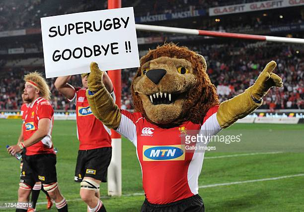 General View during the Super Rugby Relegation / Promotion match between MTN Lions and Southern Kings from Ellis Park on August 03 2013 in...