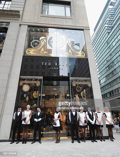 03b2cf07611cfa A general view during the Ted Baker 5th Avenue Store Opening on August 10  2012 in
