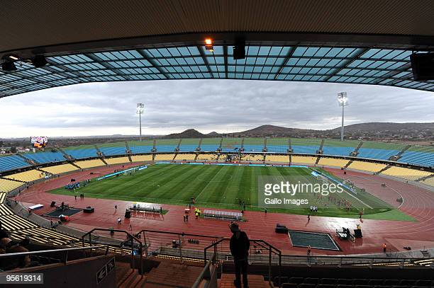 A general view during the Telkom Charity Cup match between Kaizer Chiefs and Orlando Pirates from Royal Bafokeng Stadium on August 1 2009 in...