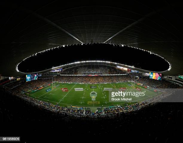 A general view during the Third International Test match between the Australian Wallabies and Ireland at Allianz Stadium on June 23 2018 in Sydney...