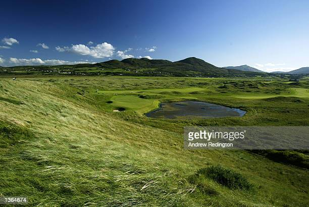 General view during the third round of the North West of Ireland Open at Ballyliffin Golf Club in County Donegal, Ireland on August 17, 2002.