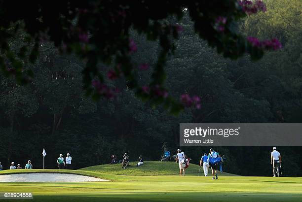 General view during the third round of the UBS Hong Kong Open at The Hong Kong Golf Club on December 10, 2016 in Hong Kong, Hong Kong.
