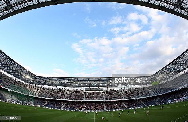 General view during the tipp3Bundesliga powered by TMobile match between FC Red Bull Salzburg and FK Austria Wien at Red Bull Arena on March 20 2011...