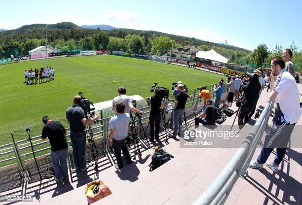 General view during the training session at Sportzone Rungg on May 22, 2010 in Appiano sulla Strada del Vino, Italy.